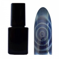 Catmatic UV-Polish Magnet Cateye Effekt Gel Blau 12ml