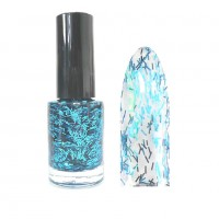Sticky Style Nagellack Feather Effect Nail Polish Feder Look Light Blue SSN-2
