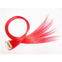 Clip in Extensions Rot PC13
