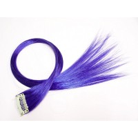 Clip in Extensions Blau PC3