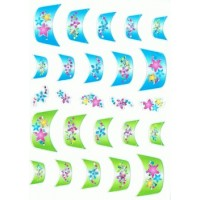 Nailart Sticker French Spitzen