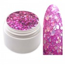 Exclusive Glamour Glitter Farbgel Violet 5ml