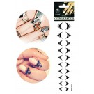 20 Cuticle Nail Tattoos Nagelhaut Tattoo