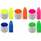 5x 5ml Exclusive Neon Farbgel