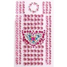 Handy Sticker / Handy Strass Rosa