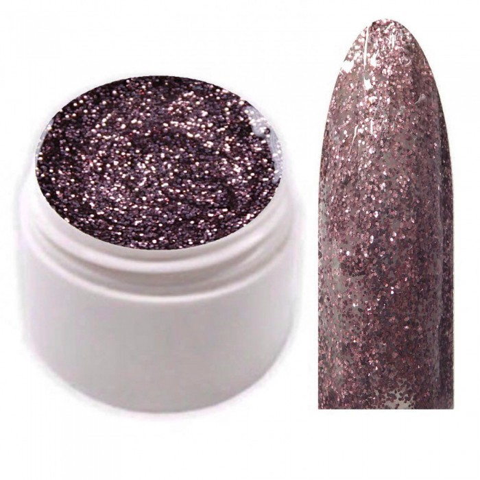 Exclusive Farbgel Dark Rose Glitter Limited Edition!!!
