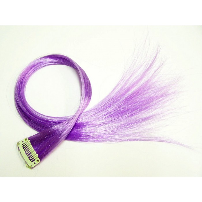 Clip in Extensions Lila PC8