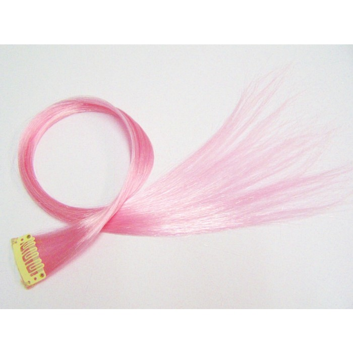 5x Clip in Extensions Rosa PC28