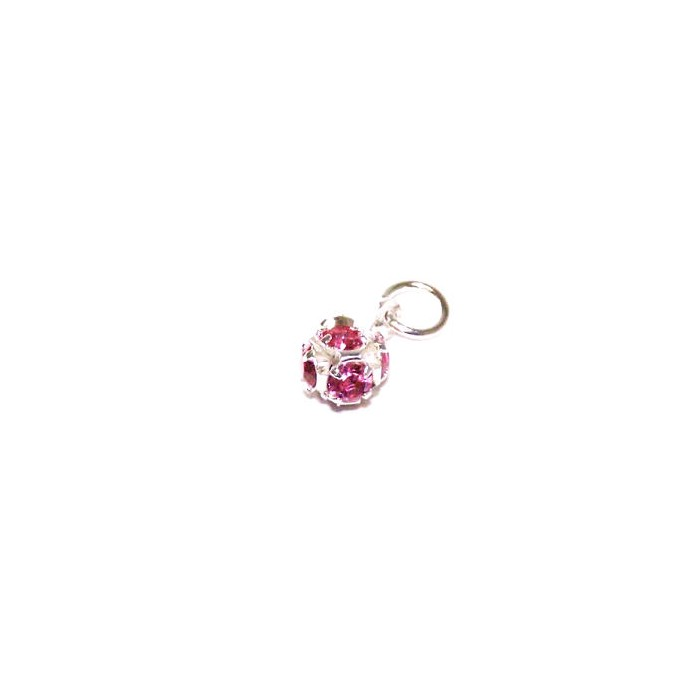 Nail Piercing / Dangle Kugel Pink